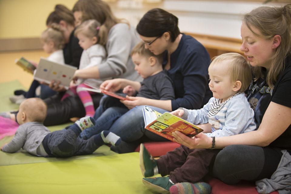 Buchstart, Gedichte für Wichte in der Elternschule Harburg
